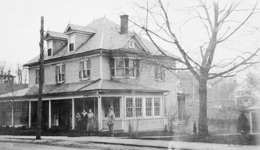 147 W. Main Street, Front Royal, circa 1932.  Home of Champ C. Proctor, owner of Proctor Feed Mill.