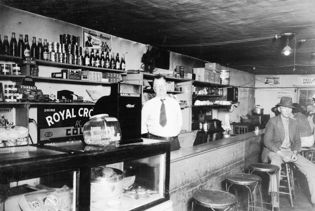 Adelsberger's Store, Main Street, Front Royal, circa 1939.
