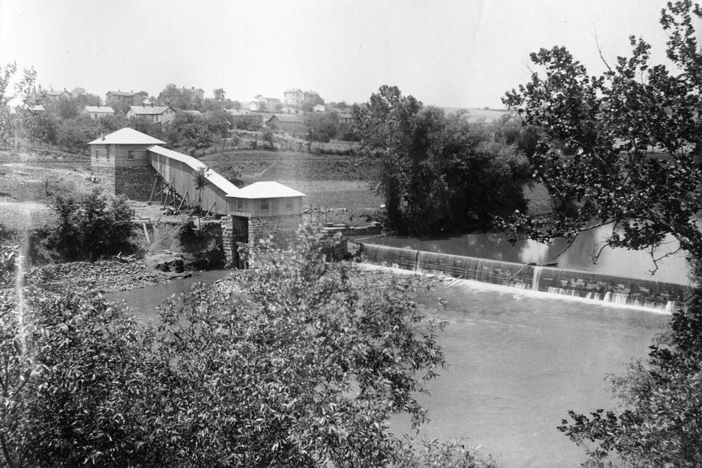Front Royal Hydro Electric Dam prior to 1939