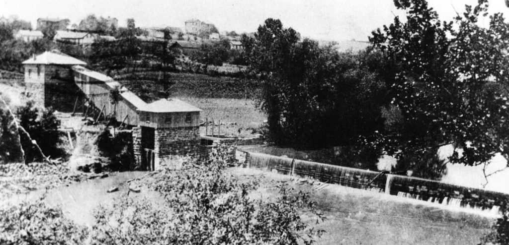 Electric Light Plant, Riverton, circa 1905.