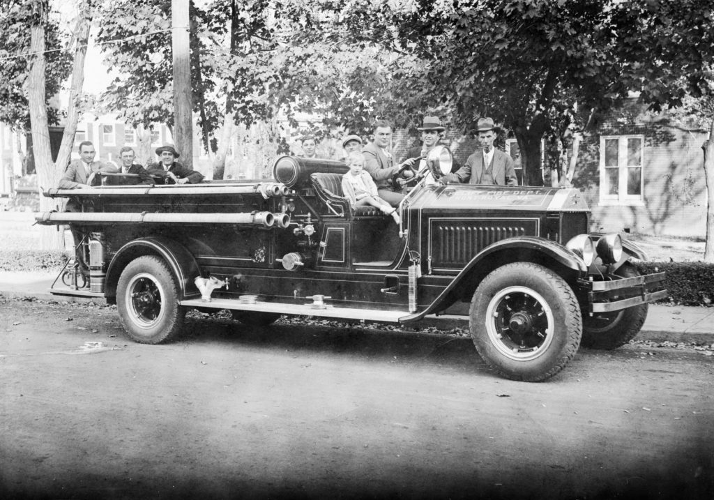 Relief Fire Department engine, Front Royal, circa 1929.  Later renamed in 1960 to Front Royal Fire Department.