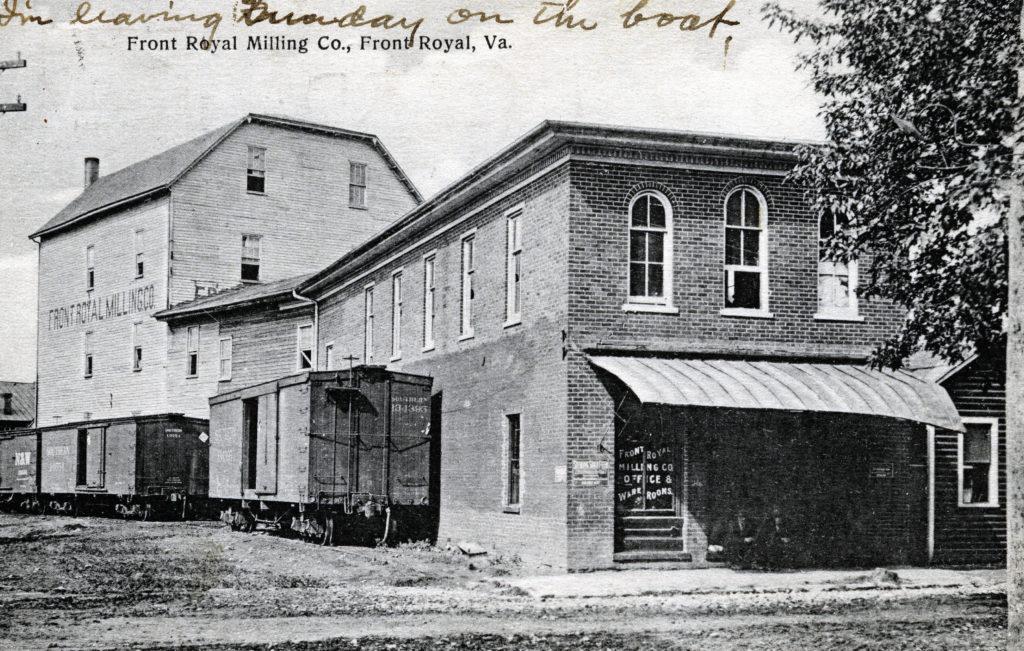 Front Royal Milling Company, 480 E. Main Street, circa 1912.