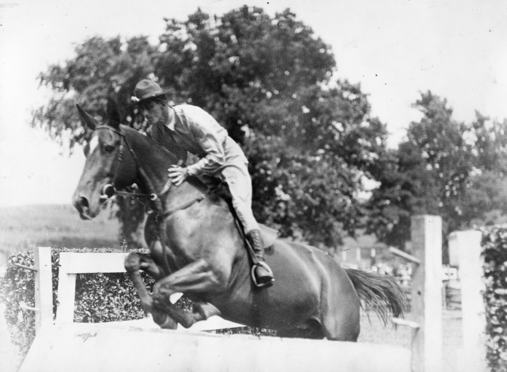 James Granville Fox, Sr. of the U.S. Army Veterinary Service, circa 1936.