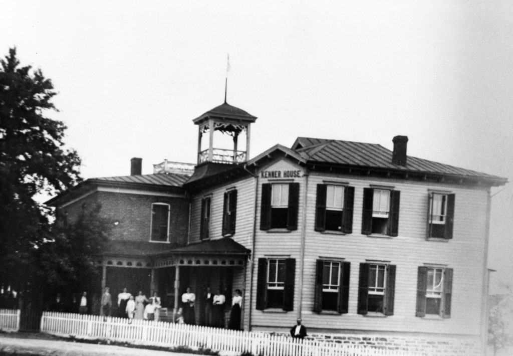 Kenner House, a Riverton hotel, circa 1900.