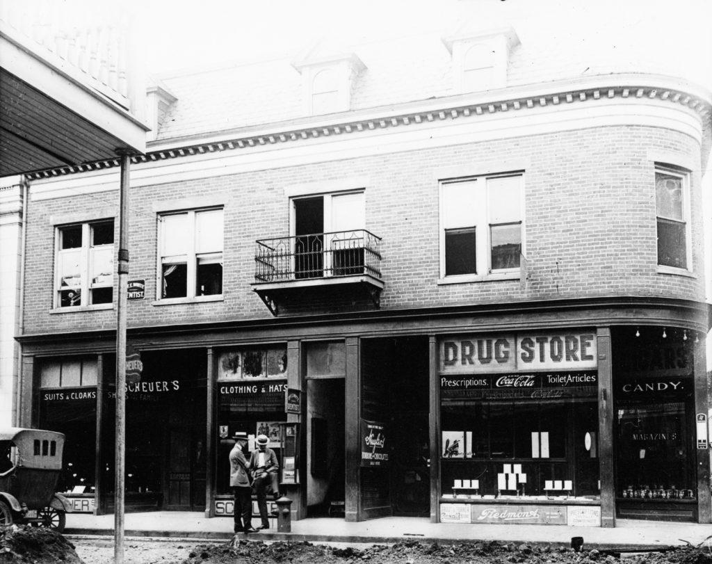 Main Street, Front Royal, circa 1923.