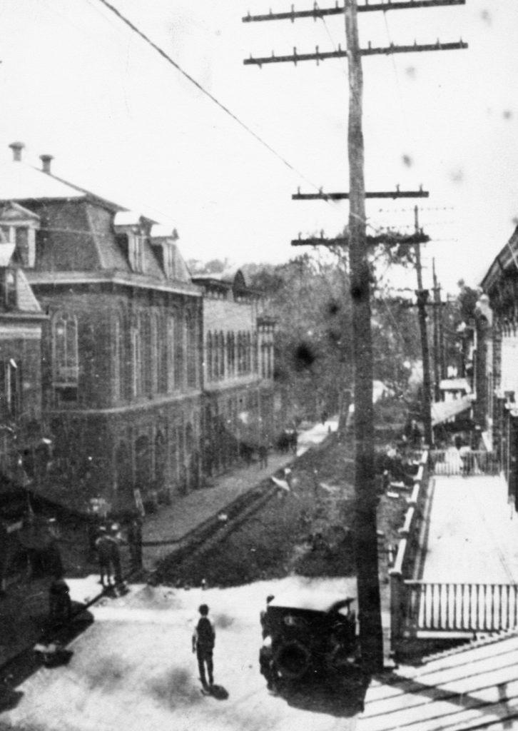East Main Street, Front Royal, circa 1925.