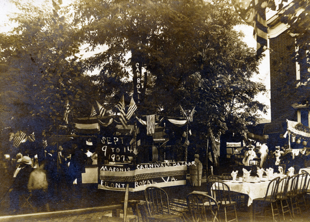Masonic Carnival, Front Royal, September, 1907.