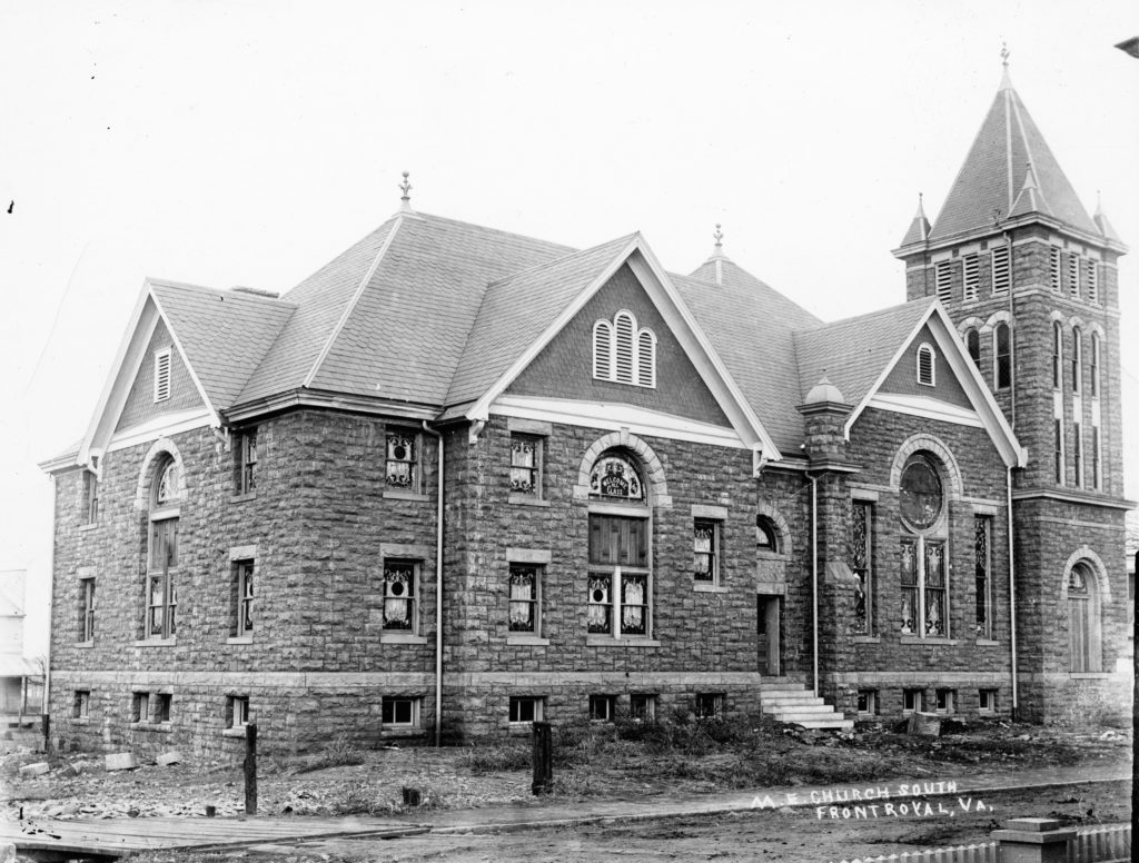 Front Royal Methodist Episcopal Church, circa 1905.