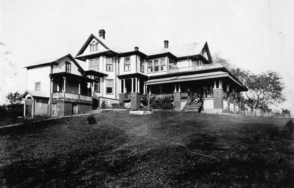 Parkview Tourist Home, Front Royal, circa 1914.