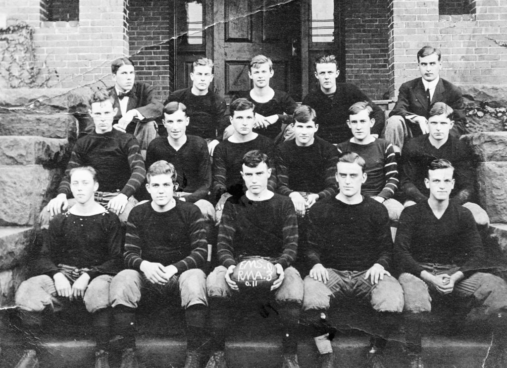 Randolph-Macon Academy Football, 1910.