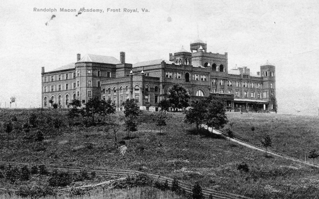 Randolph-Macon Academy, Front Royal, circa 1925.