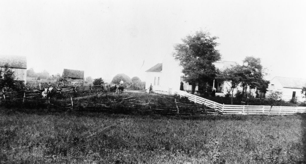 Stokes Home, Warren County, circa 1890.