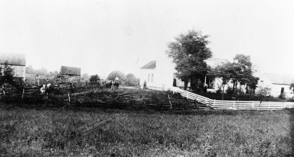 Stokes Home, Warren County, circa 1890.