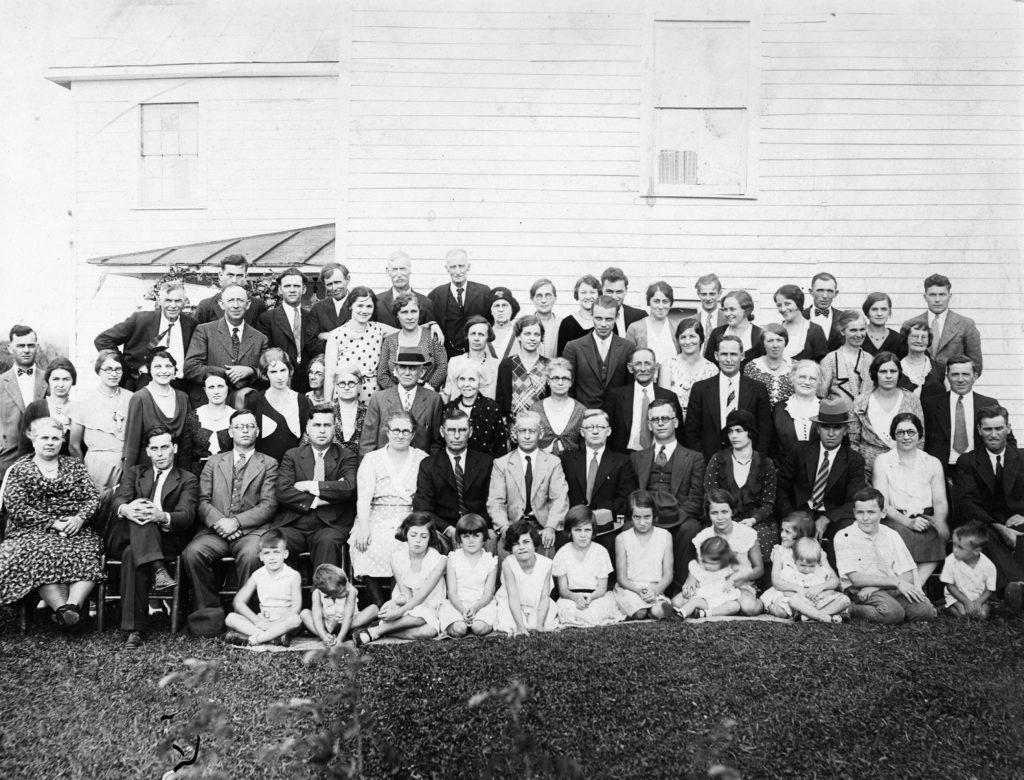 Stokes Family Reunion, circa 1930.