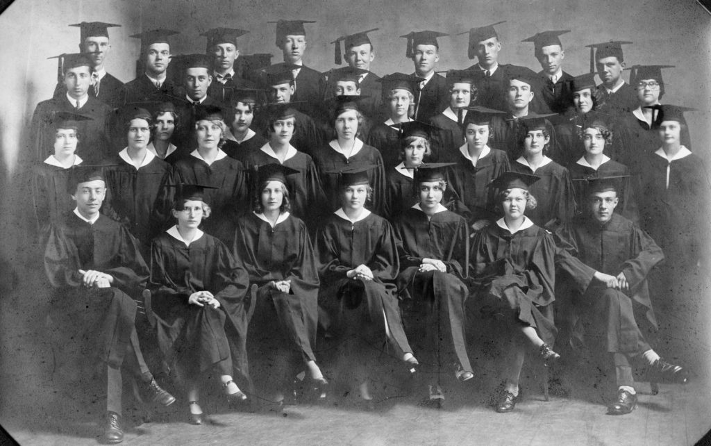 Warren County High School class of 1930.