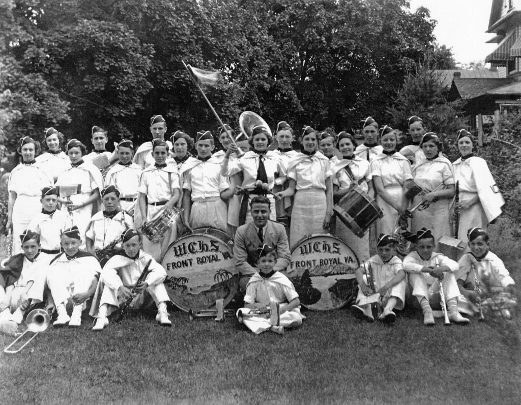 Warren County High School Band, June 1936.