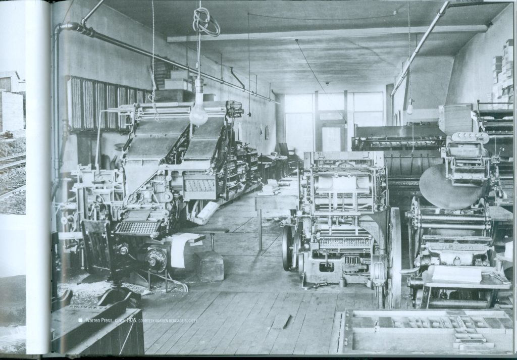 Warren Press, circa 1935.